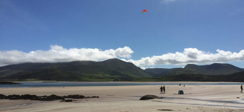 This beach is only 1km from Wild Atlantic House, a scenic walk down a country lane.